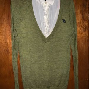 Abercrombie & Fitch wool sweater.